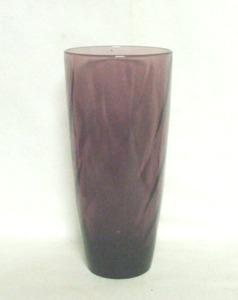 "Hazel Atlas Moroccan Amethyst Swirl 16oz.6 1/2"" Iced Tea Tumbler - Product Image"