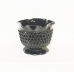 "Black Amythest 3"" Diamond Cut Candle Holder - Product Image"