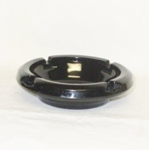 "Black Amythest 4 1/2"" Ash Tray - Product Image"