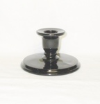 "Black Amythest 2 1/2"" Ellen Small Candle Holder - Product Image"