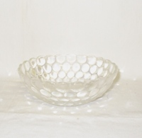 "Crystal Bubble Glass 5 1/4""Cereal Bowl - Product Image"