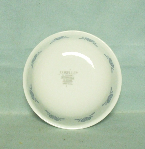 "Corelle Blue Hearts 5 3/8"" Dessert Bowl - Product Image"