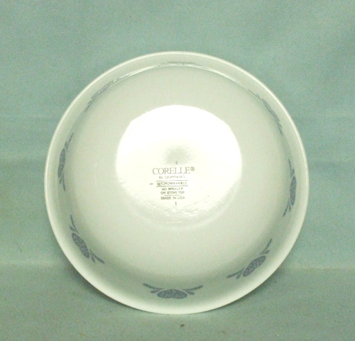 "Corelle Blue Hearts 6 1/4 "" Cereal Bowl - Product Image"