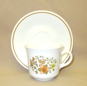 Corelle Indian Summer Cup & Saucer Set - Product Image
