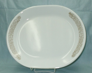 "Corelle Woodland Brown 9"" by 12 1/2"" Serving Platter - Product Image"