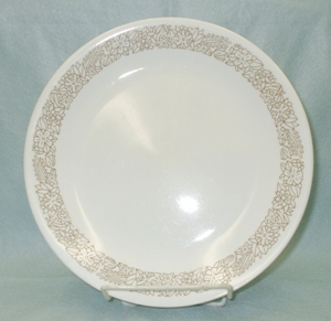 "Corelle Woodland Brown 8 "" Lunch Plate - Product Image"