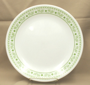 "Corelle Lt. Green Summer Impressions 10 1/4"" Dinner Plate - Product Image"