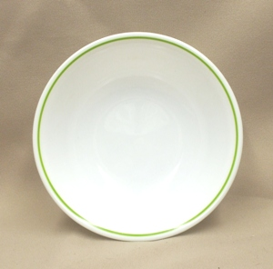 "Corelle Lt. Green Summer Impressions  6 1/4 "" Cereal Bowl - Product Image"
