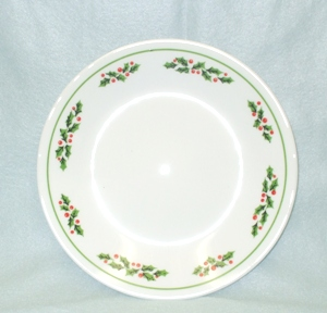 "Corelle Holly Berry 6 3/4"" Bread Plate - Product Image"