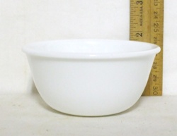 Corelle Winter Frost Individual Custard - Product Image