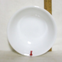 Corelle Winter Frost Cereal Bowl. - Product Image