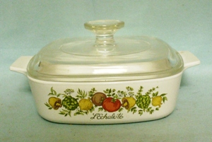 Corning Spice Of Life A-1-B Covered Casserole & Lid - Product Image