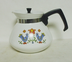 Corning Country Festival 6 Cup Tea Pot - Product Image