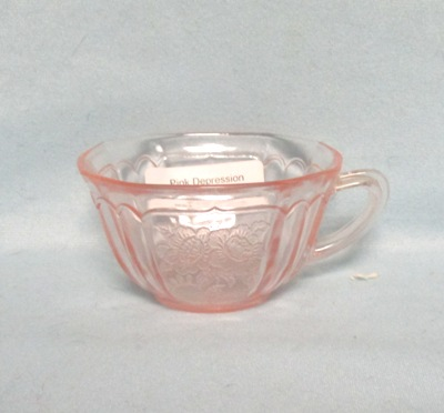 Mayfair Pink Tea or Coffee Cup - Product Image