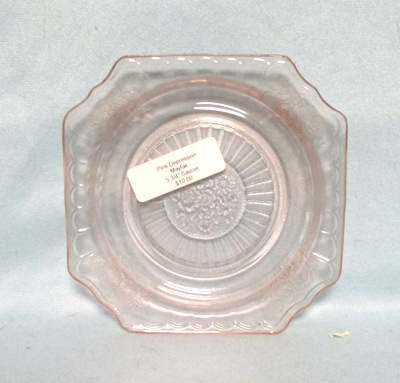 "Mayfair Pink 5 3/4"" Saucer - Product Image"