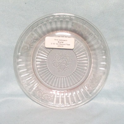 "Mayfair Pink 6 1/2"" Round Sherbert Plate - Product Image"