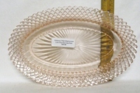 """Patrician Spoke Amber 4 3/4"""" Creamed Soup Bowl - Product Image"""