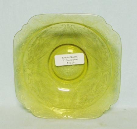 "Madrid Amber 7"" Soup Bowl - Product Image"