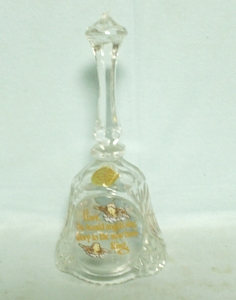 "Artmark Lead Crystal Bell ""Hark The Herald Angles Sing - Product Image"