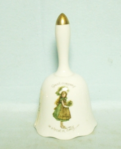 Holly Hobby Genuine Porcelain Good Company Bell - Product Image