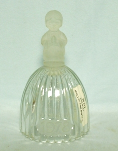 Goebel Christmas 1978 Frosted Girl Bell - Product Image