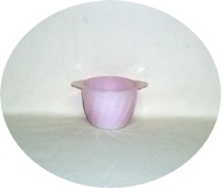 Fire King Pink Swirl Sugar Bowl no Lid - Product Image