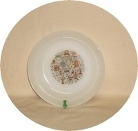 Fire King Homestead 6 5/8 Soup Bowl. - Product Image