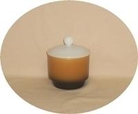 Fire King Homestead Sugar Bowl & Lid.(RARE) - Product Image