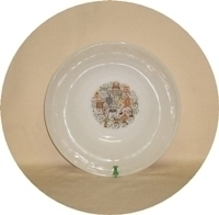 """Fire King Homestead 8 1/4""""Serving Bowl. - Product Image"""