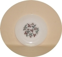 """Fire King Honeysuckle 7 3/4"""" Salad Plate - Product Image"""