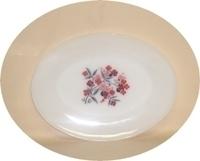 Fire King Primrose Oval Serving Platter. - Product Image