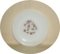 "Fire King Fleurette 9 1/8""Dinner Plate - Product Image"