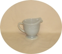 Fire King Gray Laurel Cream Pitcher - Product Image