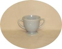 Fire King Gray Laurel Sugar Bowl - Product Image