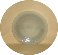 """Fire King Gray Laurel 7 3/8""""Salad Plate - Product Image"""
