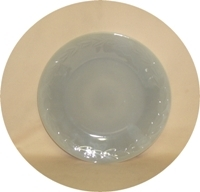 """Fire King Gray Laurel 9 1/8""""Dinner Plate. - Product Image"""