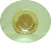 "Fire King Peach Lustre Laurel 7 3/8""Salad Plate - Product Image"