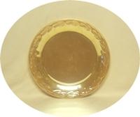 "Fire King Peach Lustre Laurel 11""Serving Platter - Product Image"