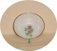 "FireKing Anniversary Rose 4 5/8""Dessert Bowl - Product Image"