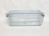 "Fireking Sapphire Blue 5 1/8""X 9 3/8""Refrigerator Jar & Lid - Product Image"