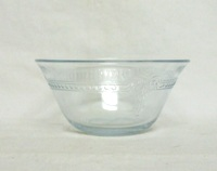 Fireking Sapphire Blue 6 Oz Shallow Custard Cup or Baker - Product Image