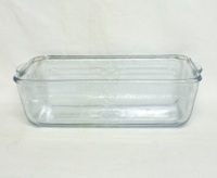 "Fireking Sapphire Blue 9 1/8"" Loaf Pan - Product Image"
