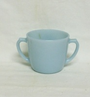 Fire King Turquoise Blue Sugar no  Lid - Product Image