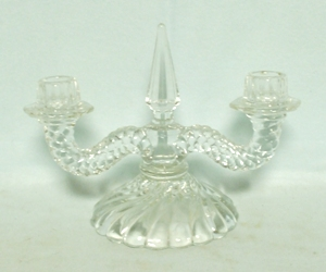 Fostoria Colony Double Candle Holder - Product Image