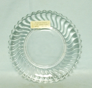 "Fostoria Colony 7 1/4"" Salad Plate - Product Image"