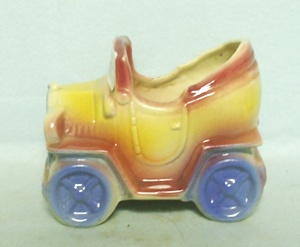 Shawnee Small Bright Colored Car Planter - Product Image