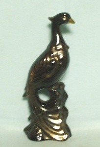 Unknown Pottery Black Pheasant wall Hanging - Product Image