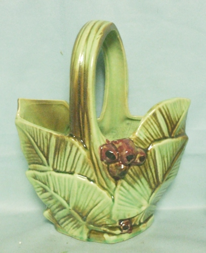 McCoy Pottery 1948 Rare Basket Planter - Product Image
