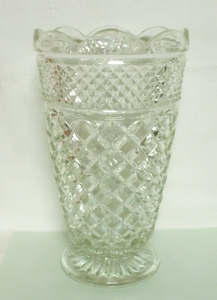 "Wexford 10 1/2"" Footed Vase - Product Image"