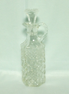 Wexford Cruet 5 1/2 oz with Stopper - Product Image